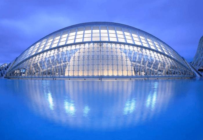 Stad van de schone kunst & wetenschappen